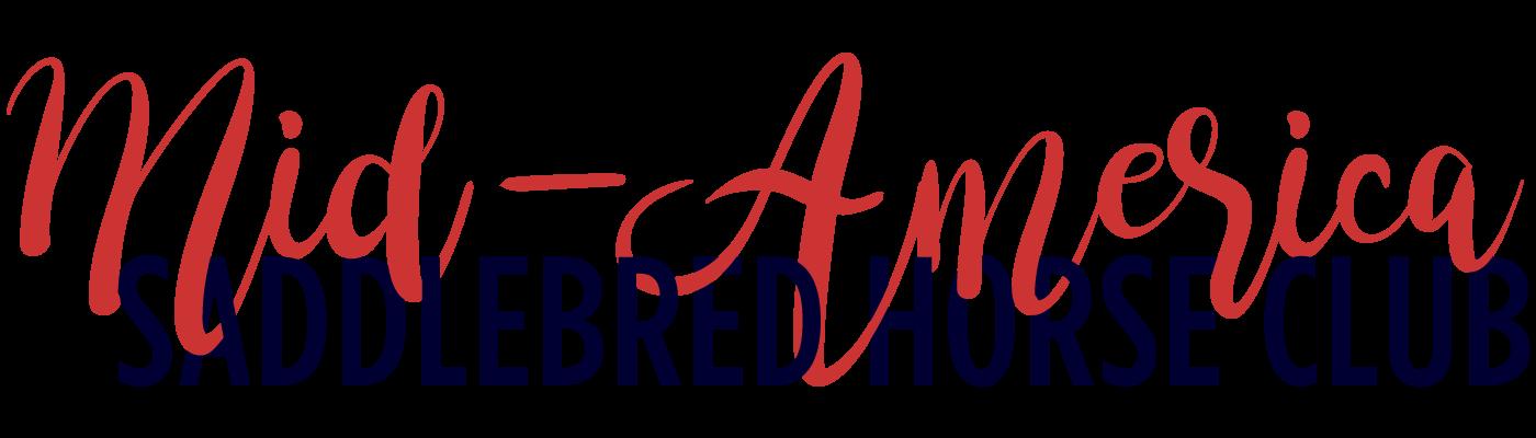 Mid-America Saddlebred Horse Club Sticky Logo Retina