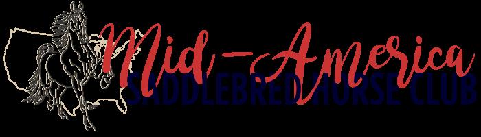 Mid-America Saddlebred Horse Club Logo